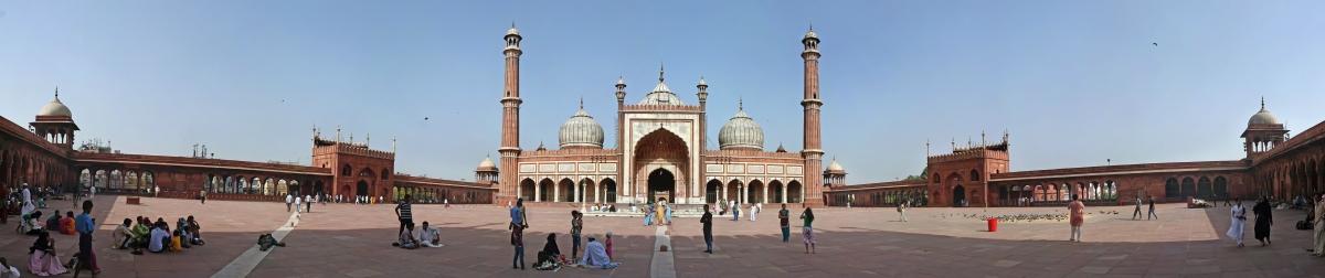 Jama Masjid Panorama