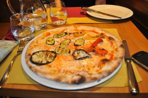 Having Pizza in Venice