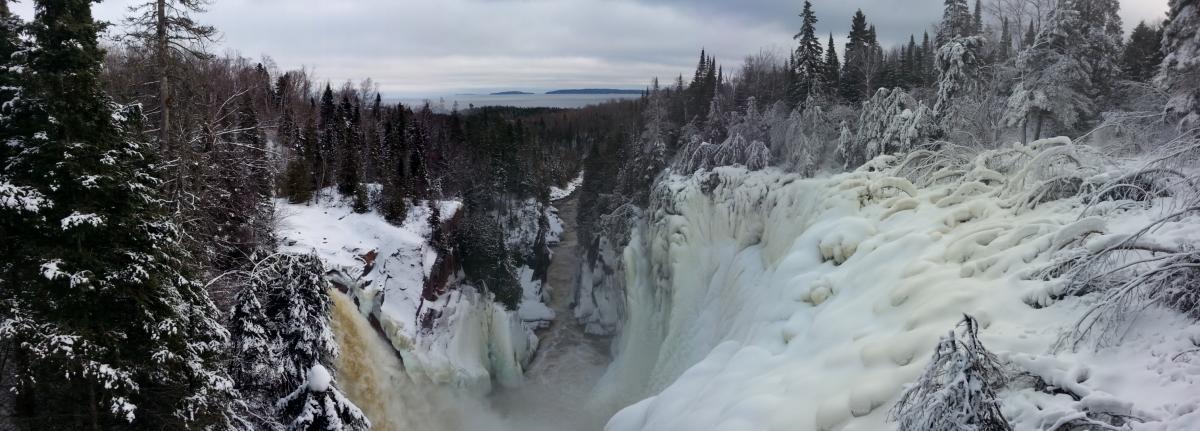 Aguasbon falls